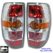 Fit 08-2011 Mazda BT50 BT-50 Xtr Chrome Pickup Ute Tail Lamp light Pair