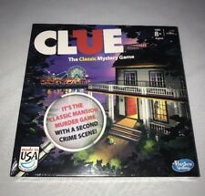"CLUE ""The Classic Mystery Game"" Hasbro Board Game New 2013"