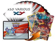 x10 Various XY Pokemon TCGO OnLine Code + 1 Bonus Volcanion XY185 Code