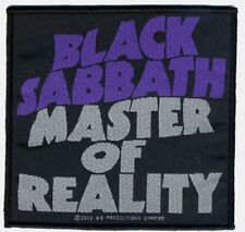 BLACK Sabbath Master of Reality Patch/ricamate 602323 #