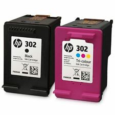 Original HP 302 Ink Cartridges - Black & Colour - For HP Envy 4520
