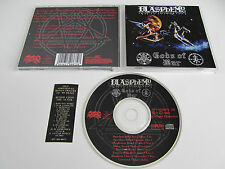BLASPHEMY Gods of War CD 1993 BLACK/DEATH VERY RARE ORIGINAL 1st PRESS OSMOSE!!!