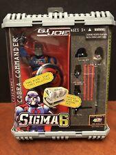 GI Joe Sigma 6 Cobra Commander Dela1606