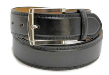 "MEN'S CASUAL DRESS JEANS BELT 1.5"" WIDE BLACK BROWN WHITE TAN  M L XL + BIG SIZE"