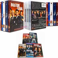 Boston Legal:The Complete TV Series Season 1-5(28-Disc, DVD Box Set)  USA New