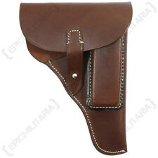 WW2 Repro German BROWN LEATHER PPK 7.65 Holster - New Gun Holder