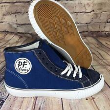 PF Flyers HI Blue Canvas Casual unisex shoes PM18OH1C