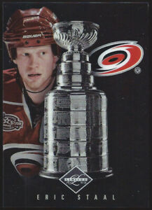 """2011/12 Panini Limited ERIC STAAL """"STANLEY CUP WINNERS"""" Insert Card #039/199"""