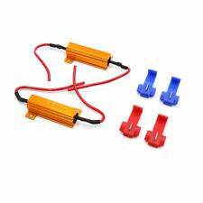 2x 50W 6Ohm LED Load Resistors Kit Fix Bulb Fast Hyper Flash Tail Signal Blink