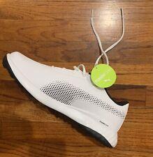 New listing PUMA Golf Grip FUSION Foam Spikeless Golf Shoes Mens size 9.5 NWT White/ Black