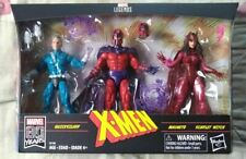 Marvel Legends Amazon Exclusive Family Matters 3 Pack Magneto Quicksilver