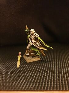 Warhammer Battle Fantasy Wood Elves Elfes Sylvains Lord Noble Seigneur