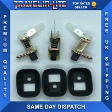 For VW Transporter T4 Door Interior Light Pin Switch & Rubber Seal's X3
