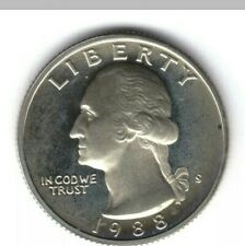 USA Liberty Quarter Dollar, coin 1988.