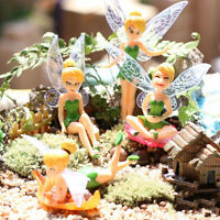 Flower Fairy Micro Landscape Gardening Ornament DIY Fairy Mini Dollhouse Family