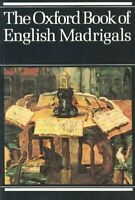 Oxford Book of English Madrigals, Paperback by Ledger, Philip, Brand New, Fre...