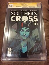 SOUTHERN CROSS #1 SS CGC 9.8 SIGNED BECKY CLOONAN (PUNISHER #1 / GOTHAM ACADEMY)