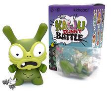 Baby G - Green by Chauskoskis - Kidrobot x Clutter Kaiju Dunny Battle Series