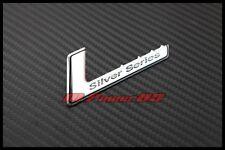 Silver Series Emblem Badge Logo For Benz AMG W204 W203 W211 W207 W219 R230 W212