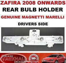 VAUXHALL ZAFIRA B BACK REAR LIGHT BULB HOLDER DRIVERS OFF SIDE SRI CDTI ECOFLEX