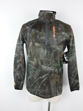Nomad Slaysman 1/4 Zip Camo Hunting Sweater N1300016 Realtree Edge Mossy Oak