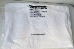 12 Bob Barker T-Shirts Medium-White-Short Sleeve Shirt-Prison