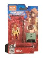 Teela Masters Of The Universe Mega Construx 2020 Wave 2 Action Figure MOTU New!
