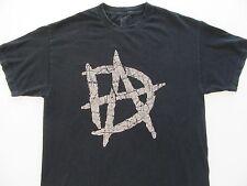 "Men's T-Shirt X-LARGE Dean ""Unstable"" Ambose WWE Worn Faded Wrestler Top"