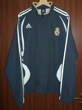 REAL MADRID FC Football Tracksuit JACKET Jersey ADIDAS size L 2006 SPAIN