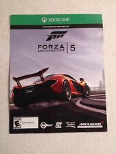 XBOX ONE FORZA 5 MOTORSPORTS GAME DOWNLOAD CARD BY MICROSOFT BUY IT NOW