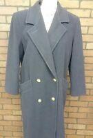 F1-7 VTG Forecaster of Boston 100% Wool Navy Women's Long Coat Size 5/6