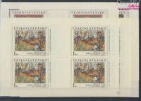 Tschechoslowakei 2789Klb-2793Klb Kleinbögen postfrisch 1984 Kunst (8776871