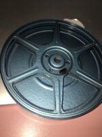 💕Vintage Film Reel 8mm Reel Blue METAL 200 Ft COMPCO Chicago USA 💕Art Project