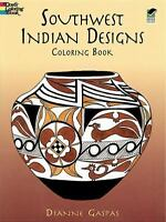 Southwest Indian Designs Coloring Book (Paperback or Softback)