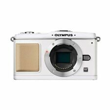 Excellent! Olympus E-P1 12.3MP Body White - 1 year warranty
