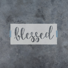 Blessed Stencil - Durable & Reusable Mylar Stencils