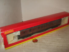Hornby R4129A LMS Brake Coach No 5205 in Hornby Box for OO Gauge