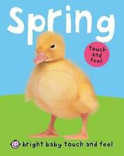 Bright Baby Touch and Feel Spring-ExLibrary