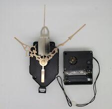 mouvement horloge quartz à balancier + aiguilles dorées + sonnerie westminster