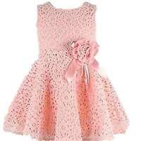 Flower Kids Girls Dress Baby Toddler Lace Princess Party Dress Birthday Wedding