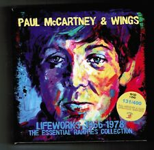 Paul McCartney & Wings LIFEWORKS  10 CD's+ 1 DVD's Box Set  RARE 131/400