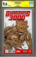 GUARDIANS 3000 #1 CGC SS 9.6 GREG KIRKPATRICK SIGNED DATED SKETCHED  1/1 RARE