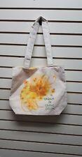 Harriet Rosebud  Tote Bag/Purse Dream in Living ColorSunflower Eco-Friendly