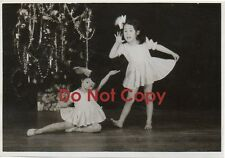 Two 1958 JAPANESE Pic104-5 Children's Christmas Pageant GOSHOGAWARA Aomori JAPAN
