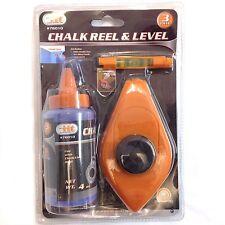 iit, 3pc Chalk Reel & Level Set, 76010, 039593760107