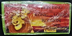 BOX 100 PACKETS (600 stickers) PANINI THE LION KING 1994
