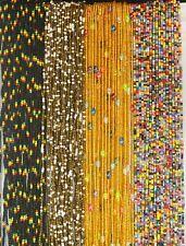 "28""-50"" Elegant Tie On African Waist Beads Belly Chain Jewelry Waist Controller"
