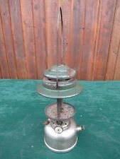 Vintage Coleman Lantern GREEN CHROME Model 236 Made in Canada Dated 9 58 1958