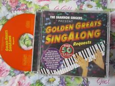 The Shannon Singers ‎– Golden Greats Singalong Requests CCSCD805 CD Album