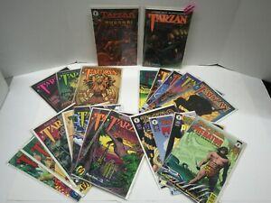 Tarzan Comics Dark Horse & Malibu FULL RUNS, vs Predator Lot of 21 Issues VF/NM